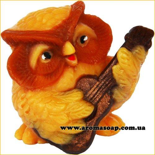 Совушка с гитарой 3D элит-форма
