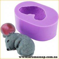 Мышонок спящий 3D элит-форма