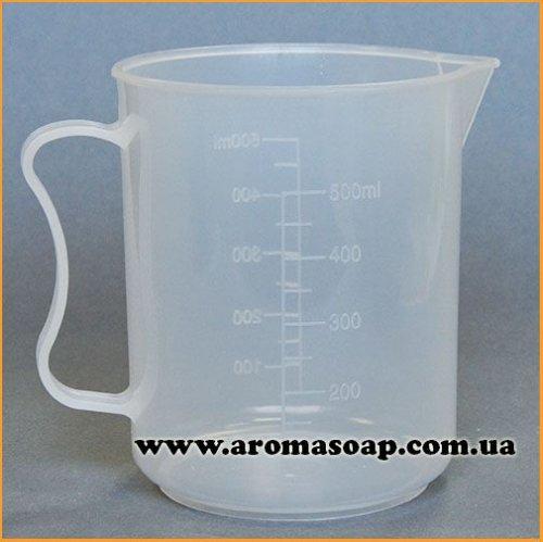 Мірний стакан з носиком і ручкою 500мл