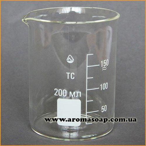 Стакан стеклянный с носиком 200 мл