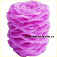 Свічка з пелюсток троянд 3D еліт-форма