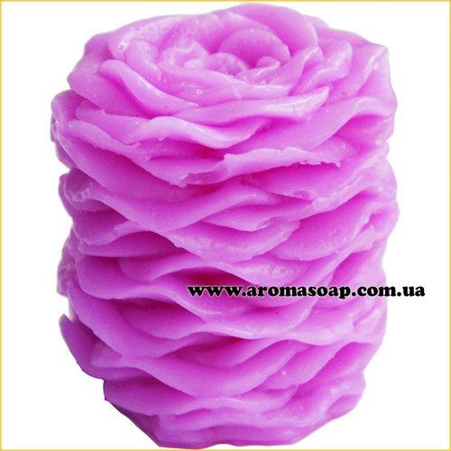 Свеча из лепестков роз 3D элит-форма