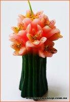 Свеча лилии 3D элит-форма