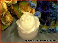 Свеча-роза мини 3D элит-форма