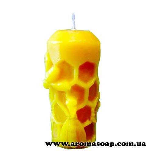 Свічка з бджолами 3D еліт-форма