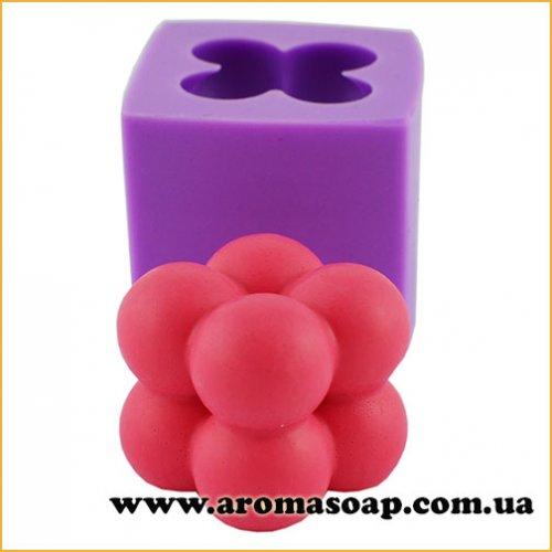 Свічка-кульки маленька 3D еліт-форма