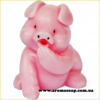 Свинка милашка 02 3D элит-форма