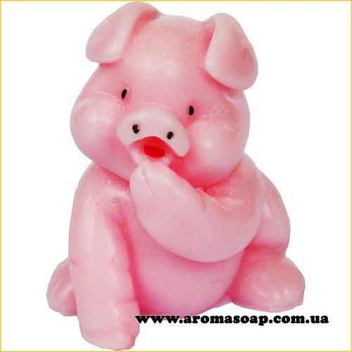 Свинка милашка 02 3D еліт-форма