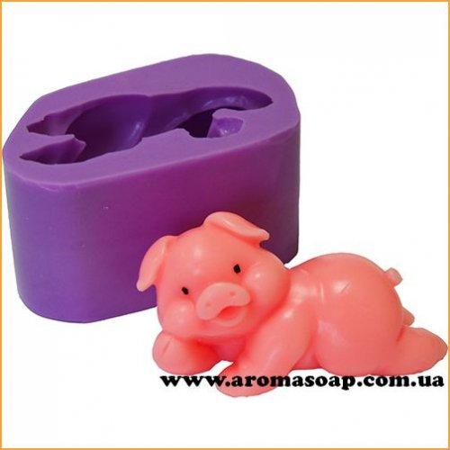 Свинка милашка 03 3D еліт-форма