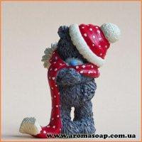 Тедди-мини с шарфом 3D элит-форма