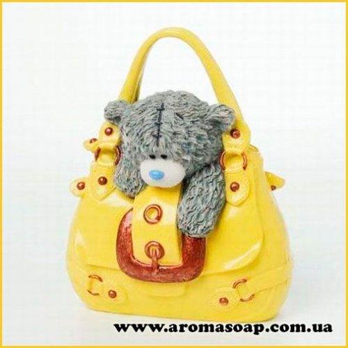 Тедди на сумке 3D элит-форма