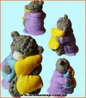 Тедді з грілкою і подушкою 3D еліт-форма