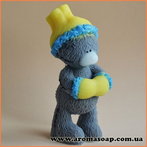 Тедді з муфтою 3D еліт-форма