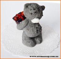 Тедди с подарком 3D элит-форма