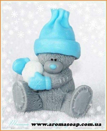 Тедді зі сніжком 3D еліт-форма