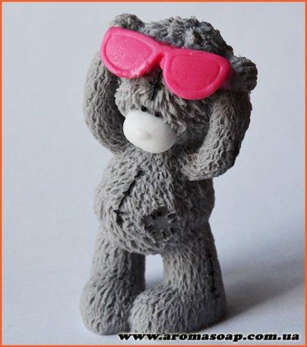 Тедди в очках 3D элит-форма