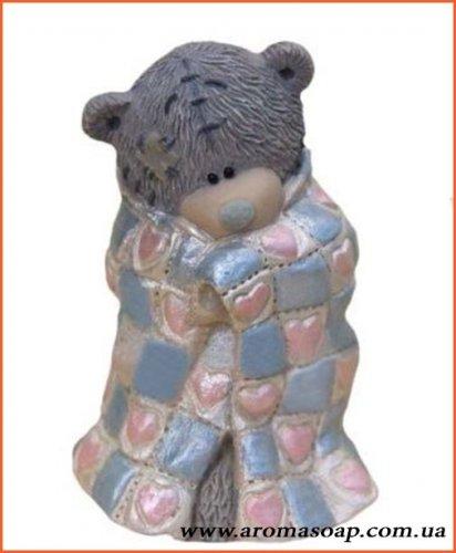 Тедди в одеяле 3D элит-форма