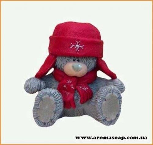 Тедди в шапке 3D элит-форма