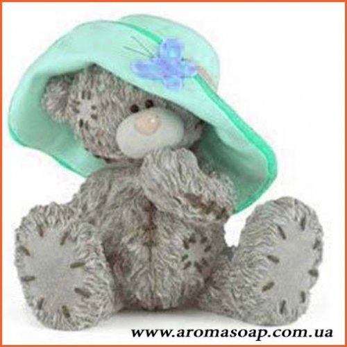 Тедди в шляпке 3D элит-форма