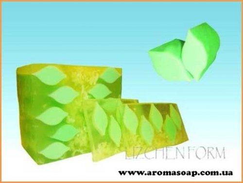 Тубус чайный лист (для брускового мыла) 3D элит-форма