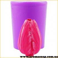 Тюльпан бутон закрытый 3D элит-форма