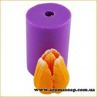 Тюльпан Верона бутон полураскрытый 3D элит-форма