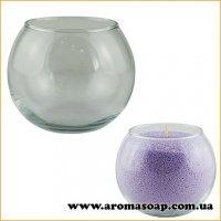 Ваза для насыпной свечи Сфера 300 мл (стекло)