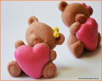 Закоханий ведмедик 3D еліт-форма