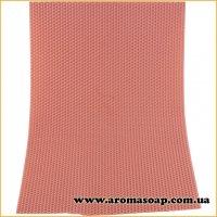 Вощина натуральная Пастельно-розовая 405 мм * 255 мм