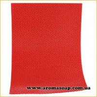 Вощина натуральная Ярко-красная 405 мм * 255 мм