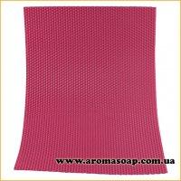 Вощина натуральная Ярко-розовая 405 мм * 255 мм