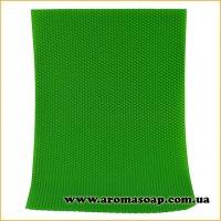 Вощина натуральна Зелена 390 мм * 255 мм