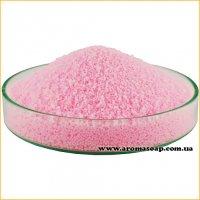 Рожевий пальмовий віск для насипних свічок (гранула)