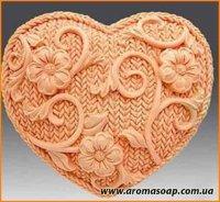 Вязаное сердце элит-форма