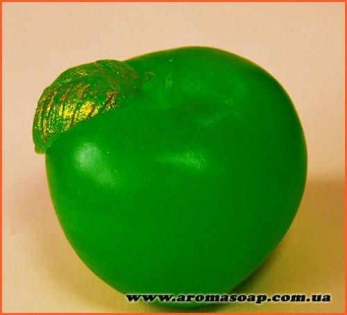 Яблуко з листком 3D еліт-форма