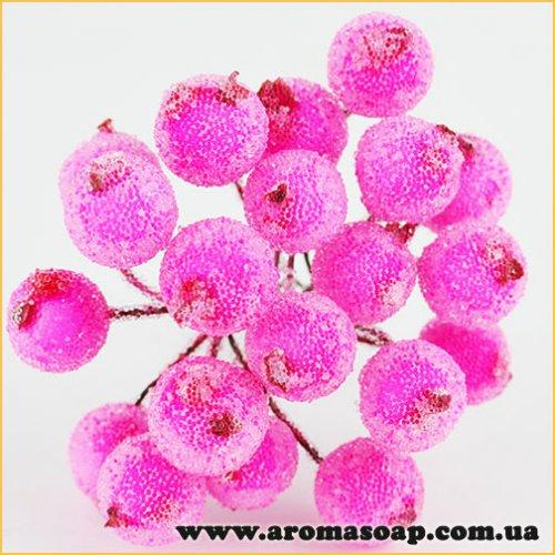 Калина сахарная из 20 ягодок Розовая