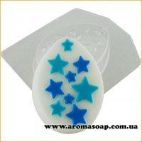 Яйце плоске в зірках 95 г (пластик)