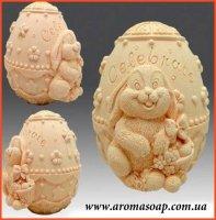 Яйцо с зайцем 3D элит-форма
