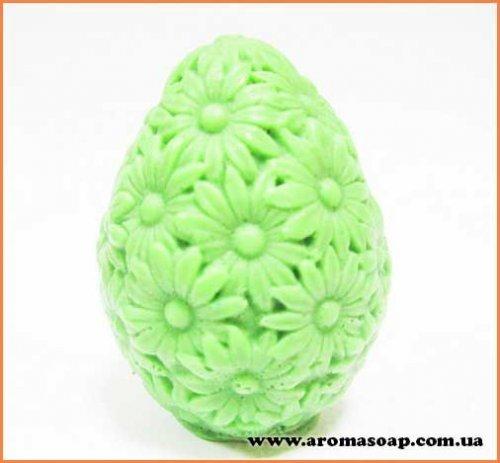 Яйцо в ромашках 3D элит-форма