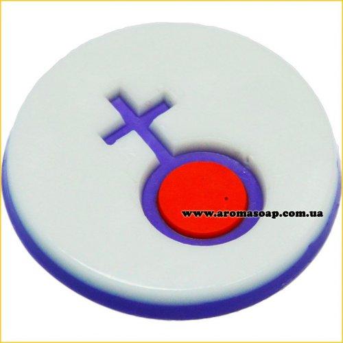 Знак Венеры штамп (силикон)