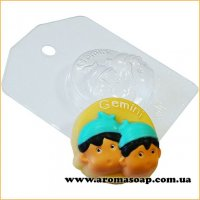 Зодиак Gemini (Близнецы) 54 г (пластик)